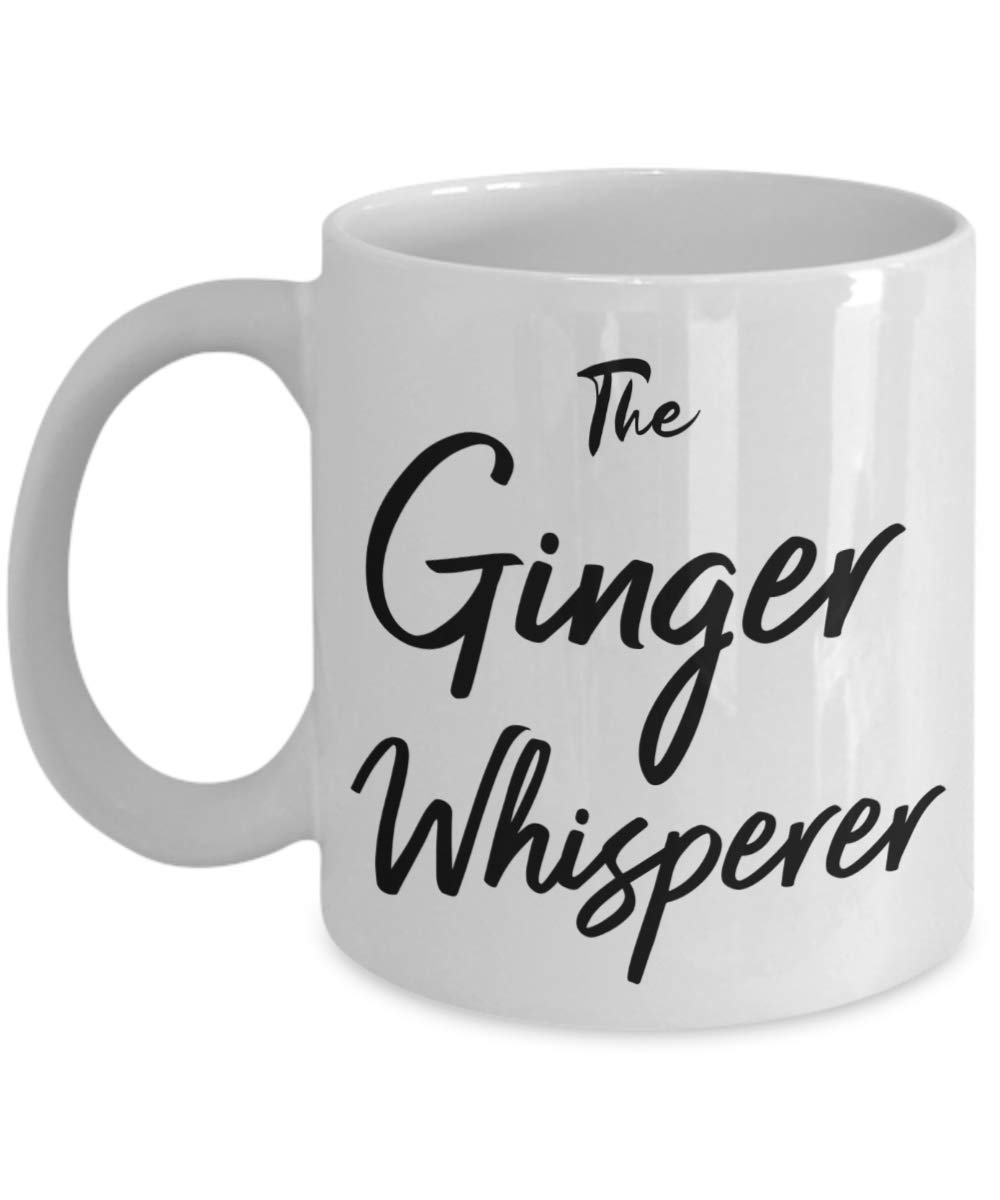 Ginger Whisperer Coffee Mug For Angry Redhead or Calm Red Hair Woman's Husband by Love This Mug