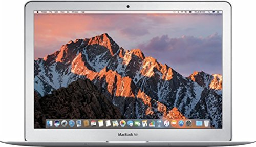 "Apple MQD32LL/A 13"" MacBook Air, Intel Dual-Core i5 1.8GHz Processor, 8GB RAM, 128GB SSD, WiFi 802.11ac, Bluetooth 4.0, Mac OS, Silver"