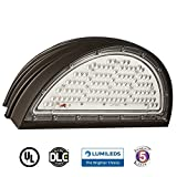 Docheer 70W LED Wall Pack Light Fixture 8300 Lumens, 250-300W HPS/HID Replacement, Football Full Cut Off Wallpack, 6000K Super Bright White, Wall Light, Industrial, Commercial, Residential Light