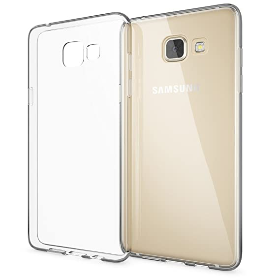 NALIA Handyhülle kompatibel mit Samsung Galaxy A5 2016, Slim Silikon Motiv Case Hülle Cover Crystal Schutzhülle Dünn Durchsic