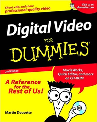 Book Digital Video For Dummies
