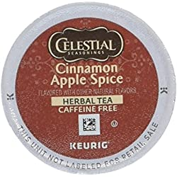 Celestial Seasonings Cinnamon Apple Spice Herbal Tea K Cups 12 count