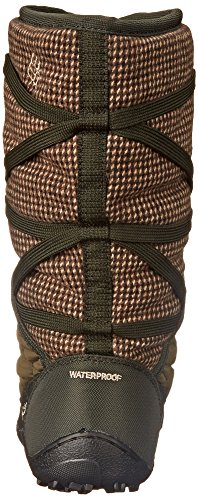 Columbia Donna Minx Slip Medio Tweed Boot Invernale Nori / Argento Salvia
