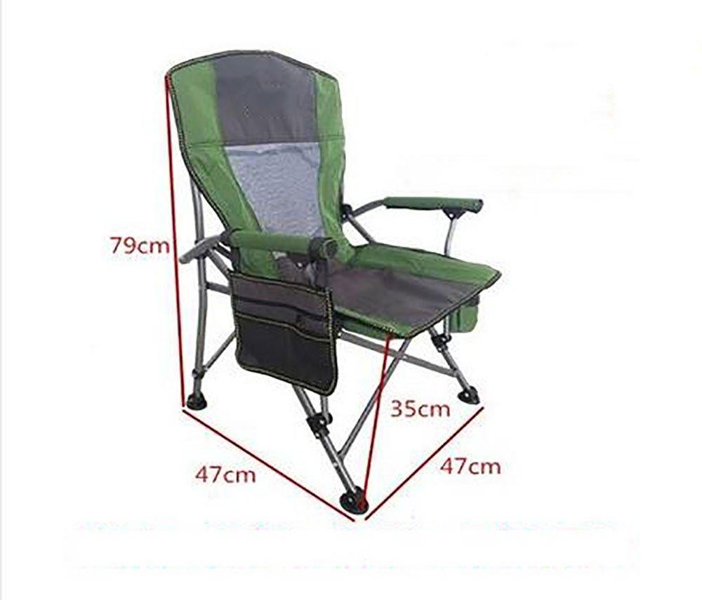 xueyan& Al Aire Libre con sillas de Pesca Silla Plegable de ...