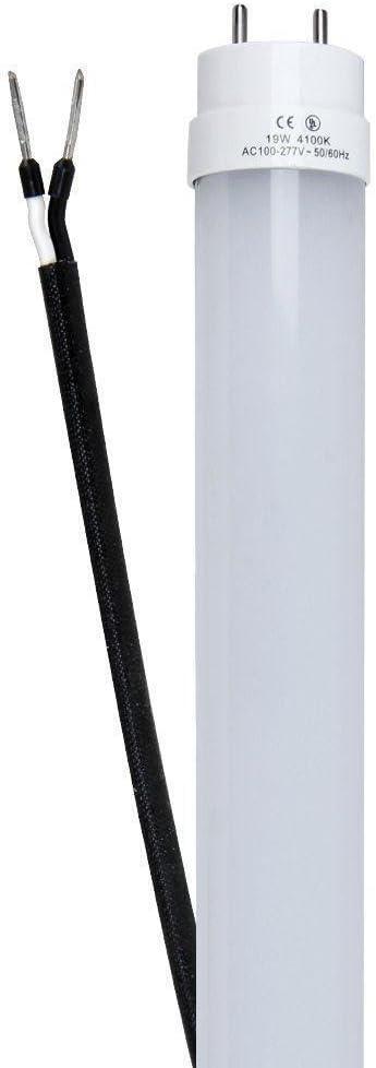 4 ft Linear LED Light Bulb 12-Pack 4100K T8 Linear 19-Watt Frost Cool White