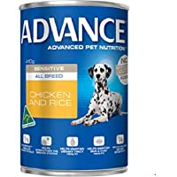Advance Adult and Senior All Breed Sensitive 410g Dog Wet Food, pack of 12