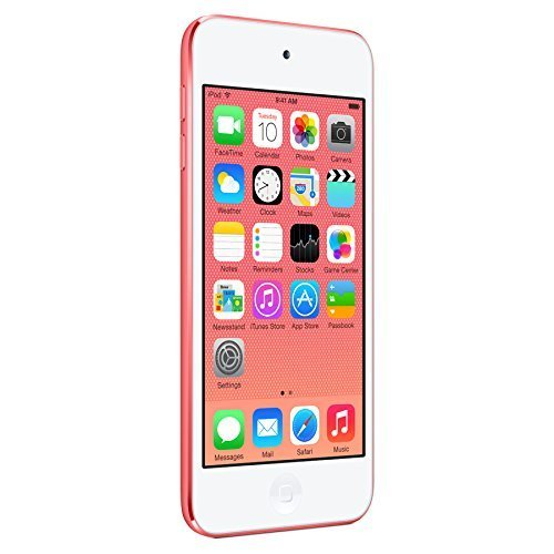 Apple iPod Touch 16GB, Pink (5th Generation)(Certified Refurbished)
