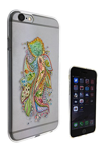 c0109 - watercolor abstract pattern Floral Design Pour iphone 5C Protecteur Coque Gel Rubber Silicone protection Case Coque