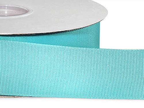 """Navajo Turquoise Grosgrain Ribbon 1-1/2""""x50 yds 100% Polyester (2 Rolls) - WRAPS-GS9315"""