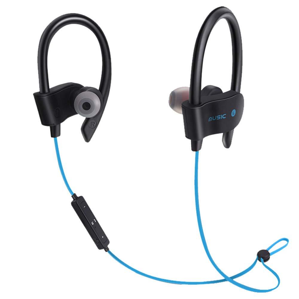 Wireless Bluetooth Headset Headphones Sport Sweatproof Stereo Earbuds Earphone,Music Recording Equipment,Red,Clearance Sale Earphones