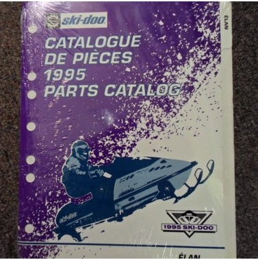 1995 Ski Doo Elan Parts Accessories Catalog Manual Factory Oem Book 95