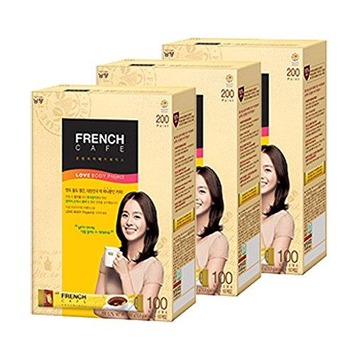NAMYANG (Namyang) Namyang francés café arábica mezcla instantánea de café leche descremada caja de palo de 100 w: Amazon.es: Alimentación y bebidas