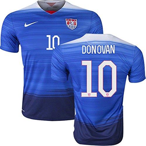 Nike Donovan #10 USA Away Soccer Jersey 2015/2016