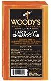 Woody's Grooming Hair and Body Shampoo Bar 8 oz