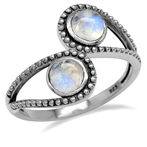 natural-moonstone-925-sterling-silver-bali-balinese-style-bypass-ring-size-9