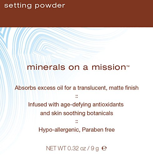 Mineral Fusion Setting Powder — Hypoallergenic, Paraben Free — 0.32 Ounces  (9 Grams) by Mineral Fusion (Image #2)