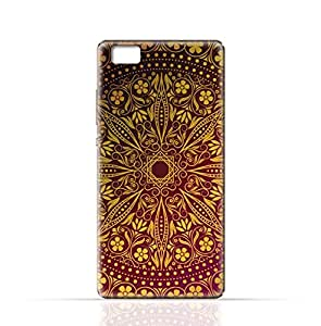 Huawei P8 TPU Silicone Case with Floral Pattern 1201