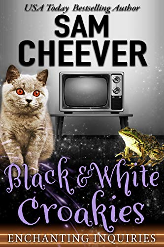 Black & White Croakies (Enchanting Inquiries Book 9) by [Cheever, Sam]