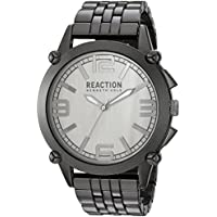 Kenneth Cole REACTION Men's 'Sport' Quartz Metal and Alloy Casual Watch, Color:Grey (Model: 10030948)