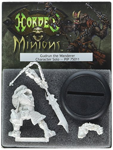 Privateer Press - Hordes - Minion: Gudrun The Wanderer Model Kit 3