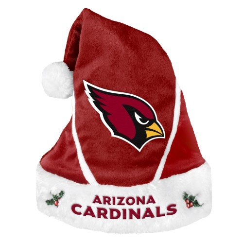Arizona Cardinals Official NFL Colorblock Santa Hat