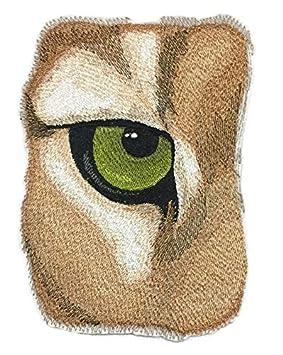 Beyondvision Personalizada Y El Ojo Único De Bordados Puma Parches De Costura Plancha 7 X 5 Gris, Negro, Blanco,: Amazon.es: Hogar