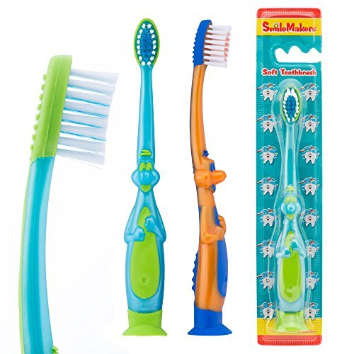 SmileCare Toddler 3-D Dinosaur Toothbrushes - Dental Hygiene Products - 48 per Pack