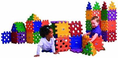 Careplay 48 Piece Grid Blocks by Foundations Worldwide, Inc.
