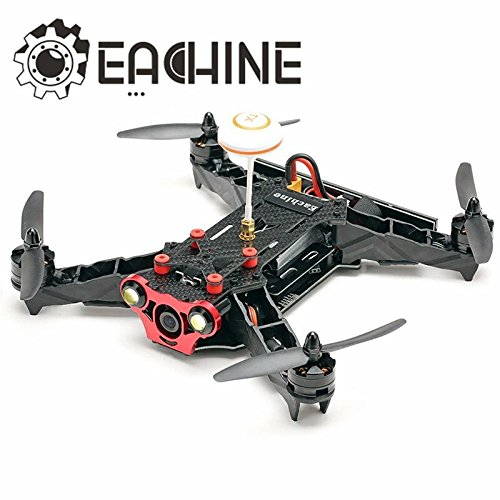 [Hot Sale Helicopter Drones Eachine Profession Racer 250 FPV Drone Built in 5.8G Transmitter OSD With HD Camera BNF] (Van Gun X Sword Costume)