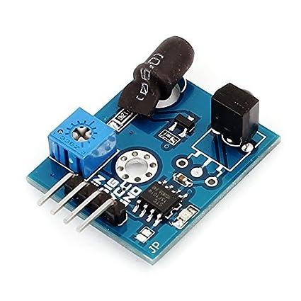 eDealMax Obstáculo Detector infrarrojo Distancia 1-Ch 2-180cm evitación del módulo