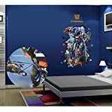 Chinatera Removable 3D Transformers Optimus Prime Wall Sticker Decal Mural Art Mural Decor Bedroom/Living Room Decor for Kid Room Home Decor