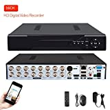 16 ch cctv dvr - 16 Channels DVR Recorder H.264 CCTV Security Surveillance System Digital Video Recorder