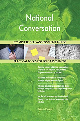 National Conversation Toolkit: best-practice templates, step-by-step work plans and maturity diagnostics (Toolkit For Conversations)