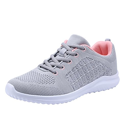 Women's Sneakers Casual Flexible YILAN Sport Grey New Shoes Fashion 5 PqwOdSAxO7