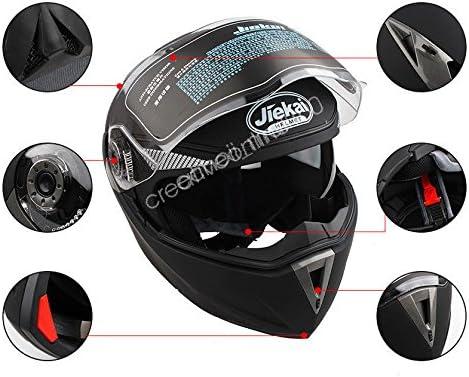 Estink Motorcycle Helmet DOT Approved Full Face Motorcycle Helmet
