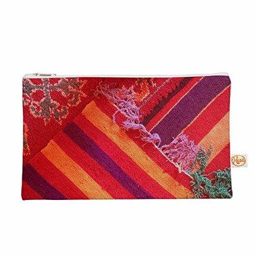 Kess eigene 12,5x 21,6cm luvprintz Teppich Alles Tasche–Rot/Orange