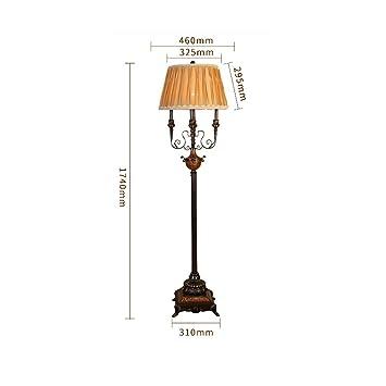 pie para de HTL Lámpara Led de pie hogarLectura de pie el Pm80OyNwvn