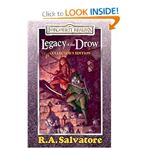 Legacy of the Drow: Collector's Edition R.A. Salvatore