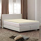 Egg Crate Foam Target Spring Solution Mattress, 2-Inch High Density Foam Mattress  Topper with Removable Cover , Queen
