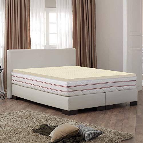 Greaton 2100v-3/3 1-inch High Density Foam Mattress Topper, Twin,