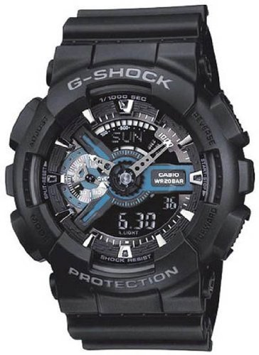G-Shock X-Large Combination Watch–Military Black, Watch Central