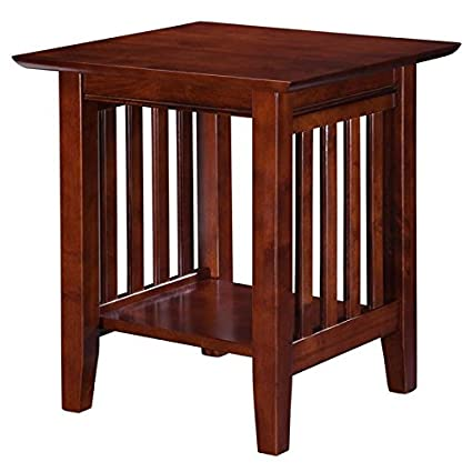 Excellent Pemberly Row End Table In Walnut Squirreltailoven Fun Painted Chair Ideas Images Squirreltailovenorg