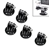 Pack of 5 - Tripod Monopod Mount Adapter for GoPro Hero 5 +LCD 4 3 3+ 2 Hero by MaximalPower