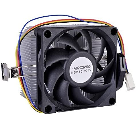 Amazon Com Amd Socket Fm1 Am3 Am3 Am2 Am2 1207 940 939 754 4 Pin Connector Cpu Cooler With Aluminum Heatsink 2 75 Fan For Desktop Pc Computer Computers Accessories