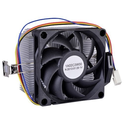 AMD Socket FM1/AM3+/AM3/AM2+/AM2/1207/940/939/754 4-Pin Connector CPU Cooler With Aluminum Heatsink & 2.75