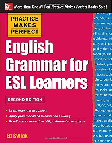 practice makes perfect english grammar for esl learners 2nd 読書