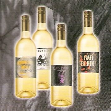 Halloween Spooky Bottle Label Stickers * Transform any bottle into a creepy concoction
