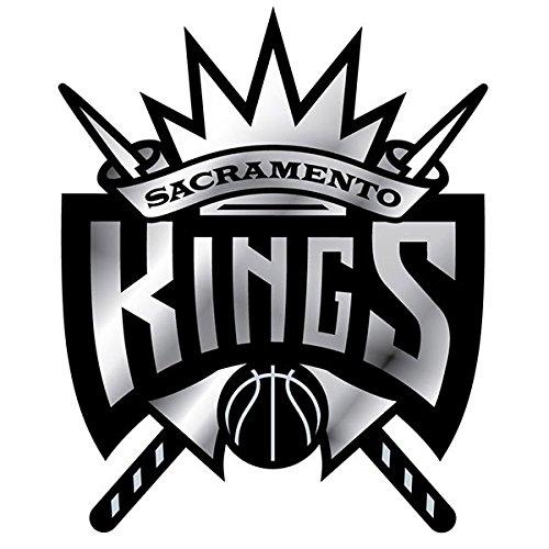 Officially Licensed NBA 3D Plastic Chrome Emblem - Sacramento - Sacramento Outlets