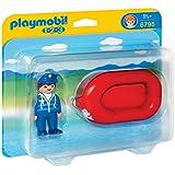 PLAYMOBIL Man with Water Raft Set