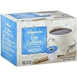 Wegmans Coffee Capsules, Single Serve, Light Caffeine